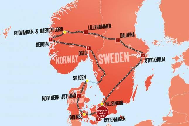 Scandinavian Escape 12 Days Tour Explore Travel Visit Stockholm Expat Explore