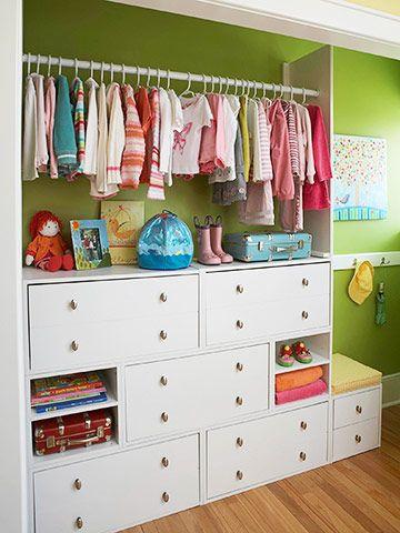 closet-less closet :).. Love a closet- less closet!