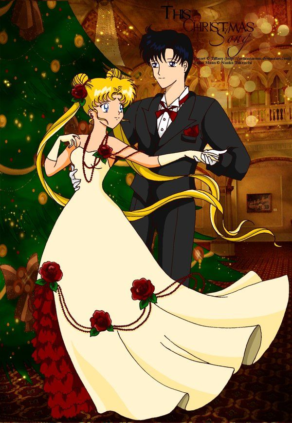 Sailor Moon and Darien Wedding | serena and darien - Sailor Moon Fan Art (28811199) - Fanpop fanclubs