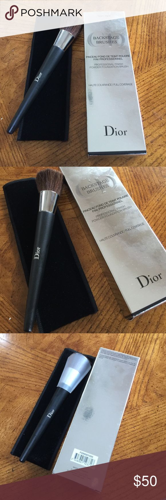 Christian Dior make up brush Christian Dior Powder Foundation Brush Full Coverage Christian Dior Makeup Brushes & Tools