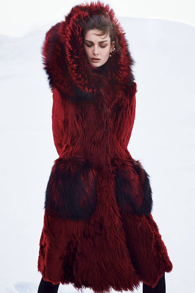 The Next Big Thing In Fur, BAZAAR October 2014. See the full fashion shoot here.