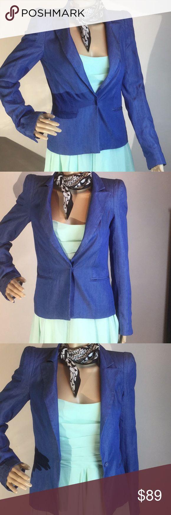 """Antik Batik Blazer New size XS Blazer. Measurements taken laying flat: bust - 16"""", length - 23"""". Make me an offer Antik Batik Jackets & Coats Blazers"""