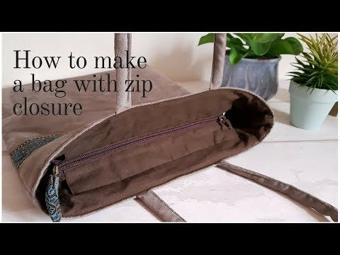 0feeac56172 Zip closure for handbags - YouTube | Bags, Purses & Wallets ...