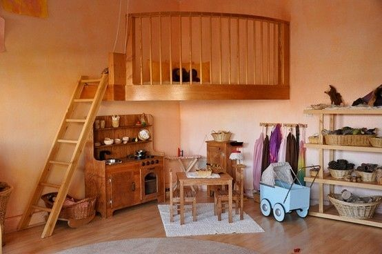 So cute! But lose the baby carriage and clothing stand and it will look complete