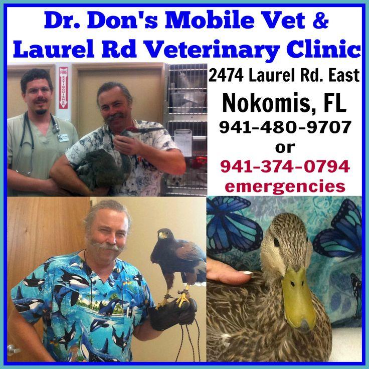 FLORIDA, Dr. Don's Mobile Vet & Laurel Rd Veterinary