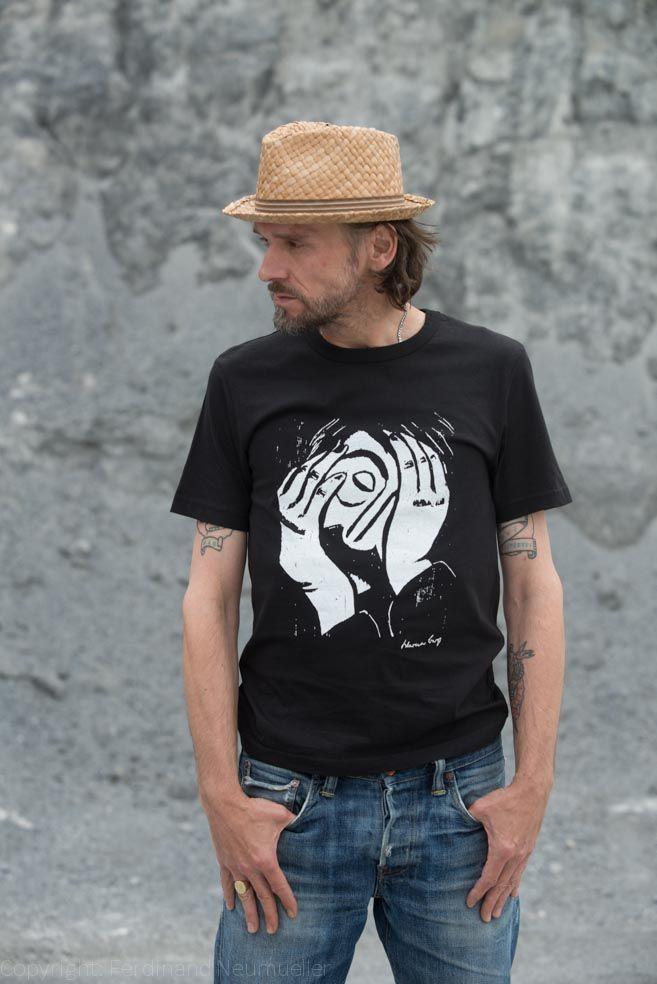 """Werner Berg Shirt <3 """"Einer zu viel"""" <3 Von der Kunst, echt zu sein. Ein Kärntner Künstler als Inspiration <3 #kunst #tracht #kärnten #bleiburg"""