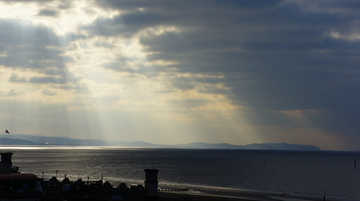This afternoons god rays :)
