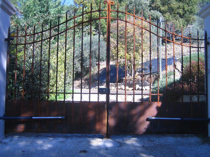 Nos mod les de portails en fer forg pinterest for Modele portail fer forge
