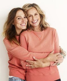 Lauren Hutton and her daughter