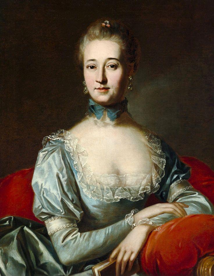 """Portrait of Anna Humiecka"" (nee Rzewuska; Polish…"