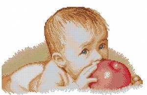 Детишки - Люди - Схемы в XSD - Кладовочка схем - вышивка крестиком