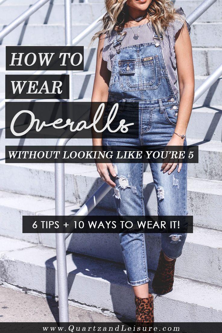 How to Wear Denim Overalls // Quartz & Leisure