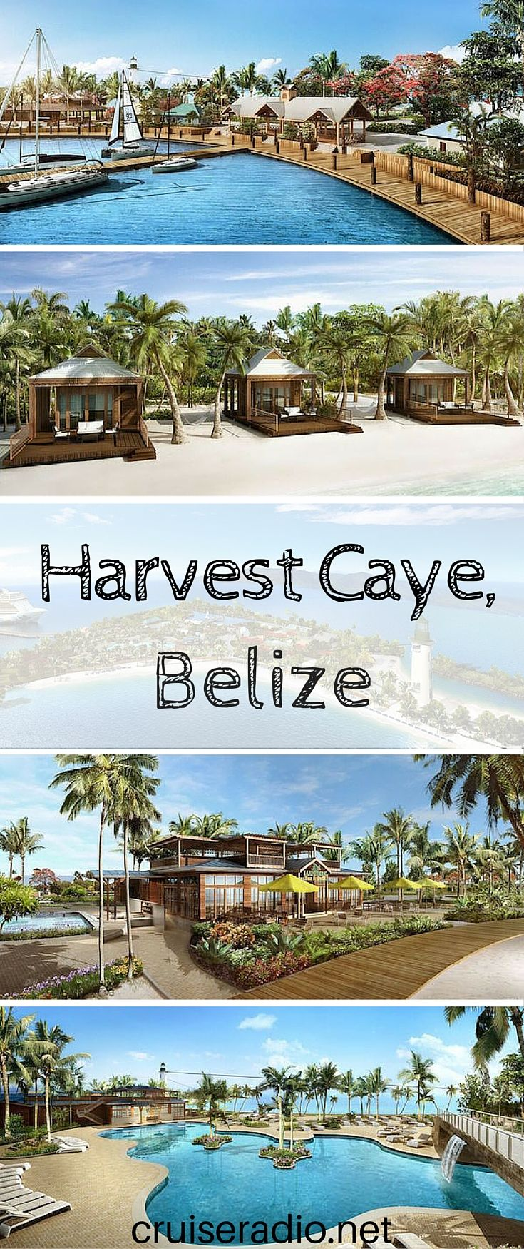 Norwegian's New private island in Belize