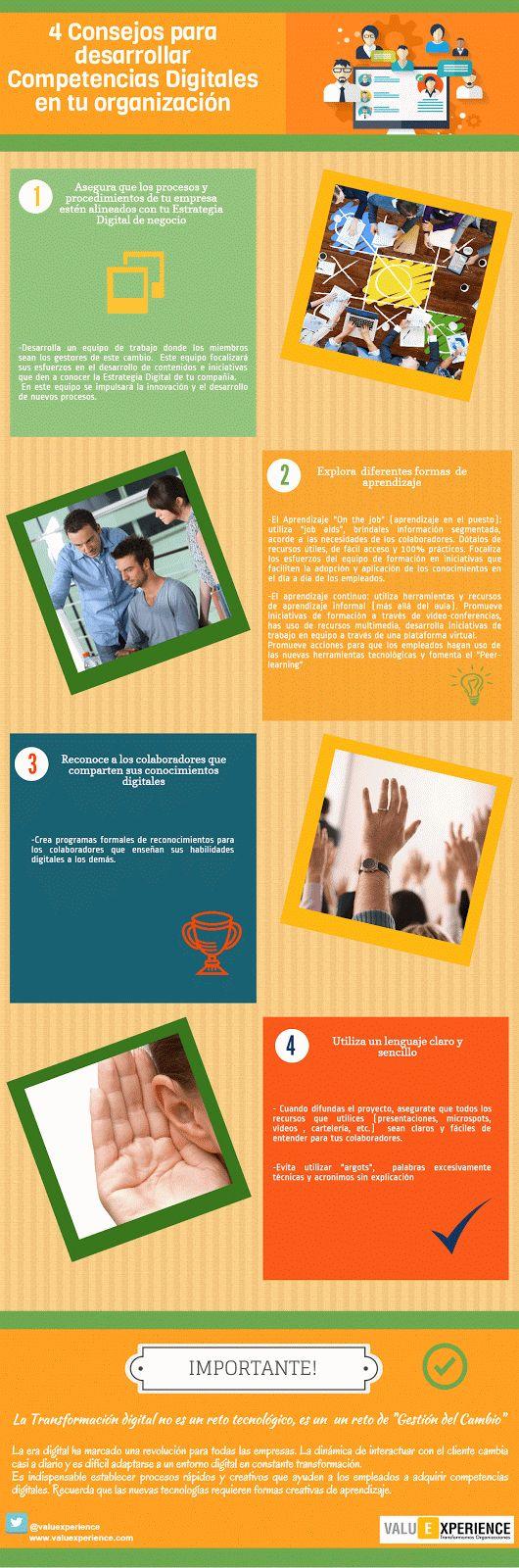 4 consejos para desarrollar las competencias digitales de tus trabajadores