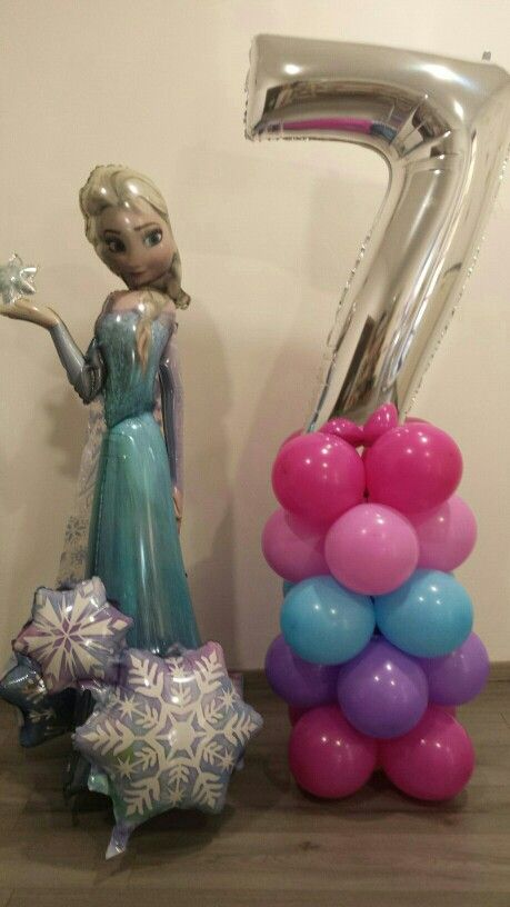 Frozen e colonna per compleanno