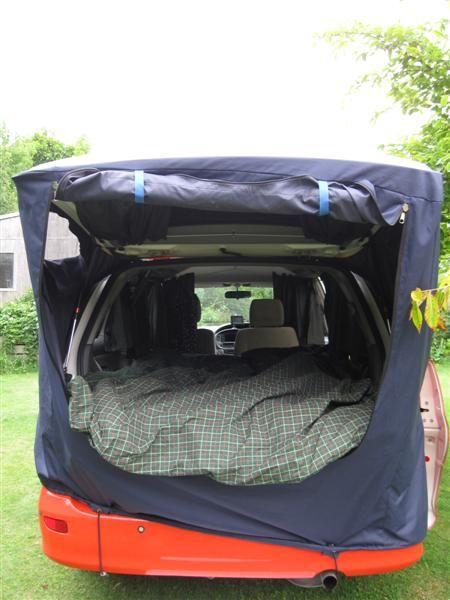 Car Boot Awning Tent Idea Pinterest
