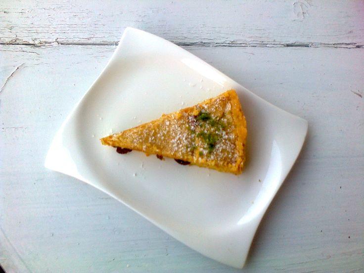 tvarohový pie s limetkou