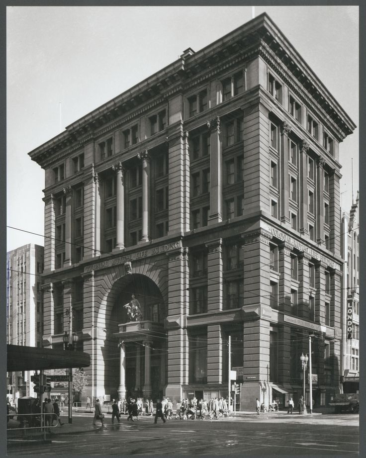 Exterior of Colonial Mutual Life Building 1959
