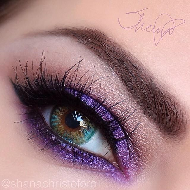 Beautiful Purple Look