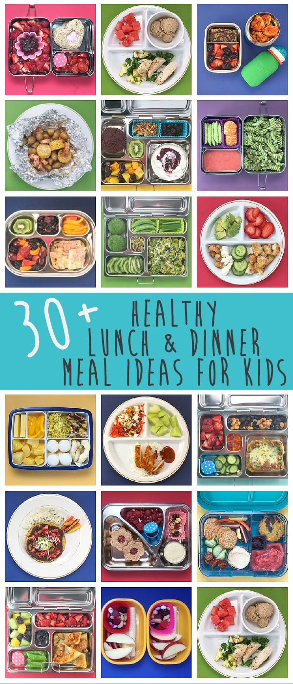 30+ Healthy Lunch & Dinner Meal Ideas for Kids!