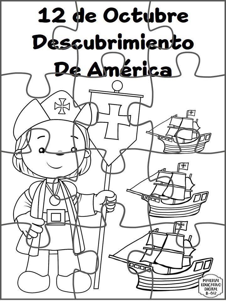Espectacular Material Interactivo Sobre El Descubrimiento De America 12 De Octubre Educaci Cristobal Colon Para Ninos Material Educativo Dia De La Hispanidad