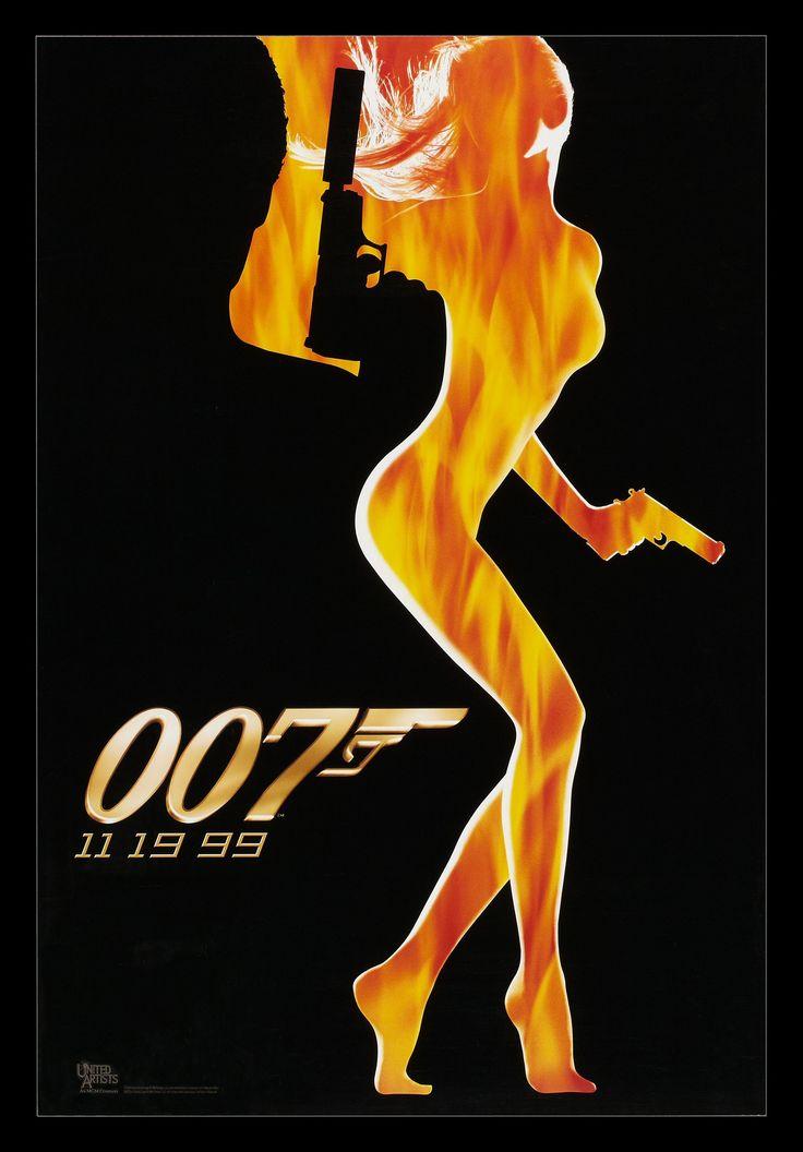 "Pierce Brosnan returns as ""007"" James Bond in Ian Fleming's The World Is Not Enough. #Bond50"