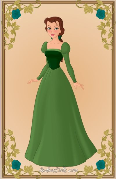 26 best images about princess belle green dress on