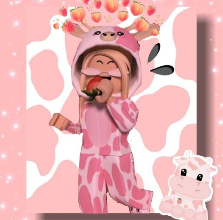 Cute Pink Cow Outfit Cute Profile Pictures Roblox Pictures Roblox Animation