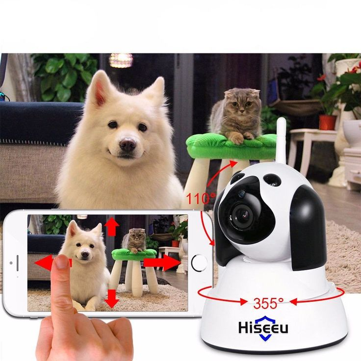 Smart Dog Home Security WiFi IP Camera 720p with Night Vision #accessories #Cheap-security-ip #China-ip-camera-Suppliers