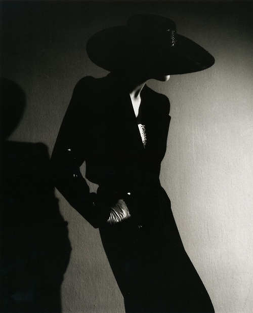 Carmen Sandiego, hehehe (not really)  By Horst P Horst