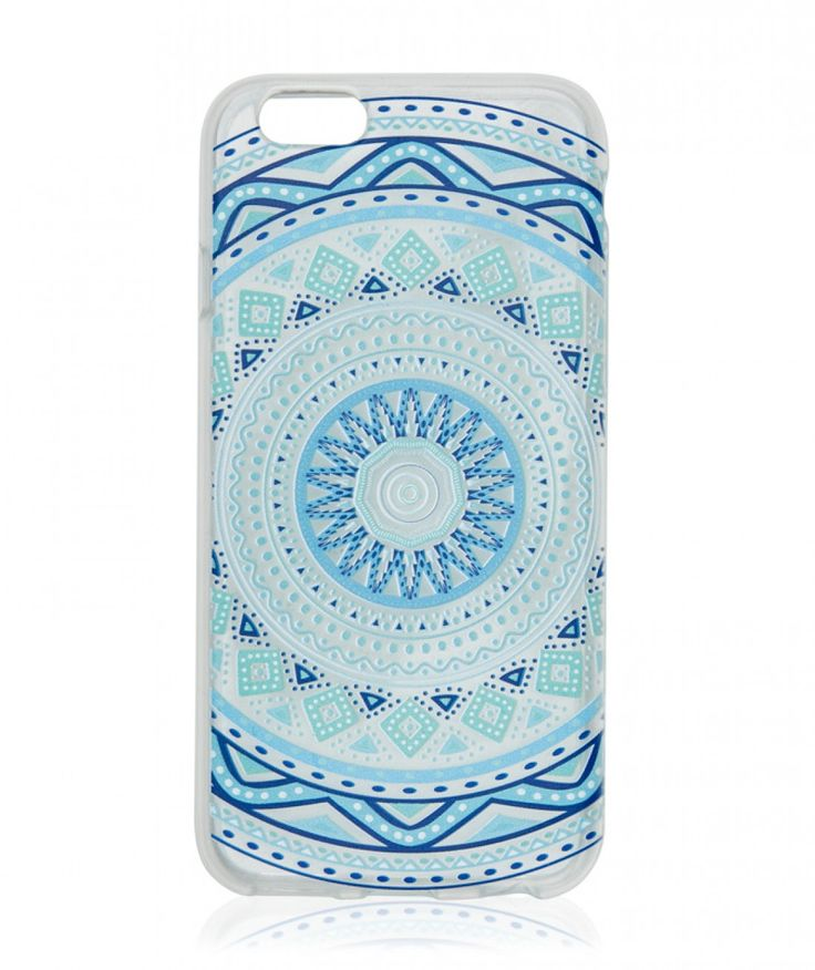 CLEAR KALEIDOSCOPE PHONECASE 6