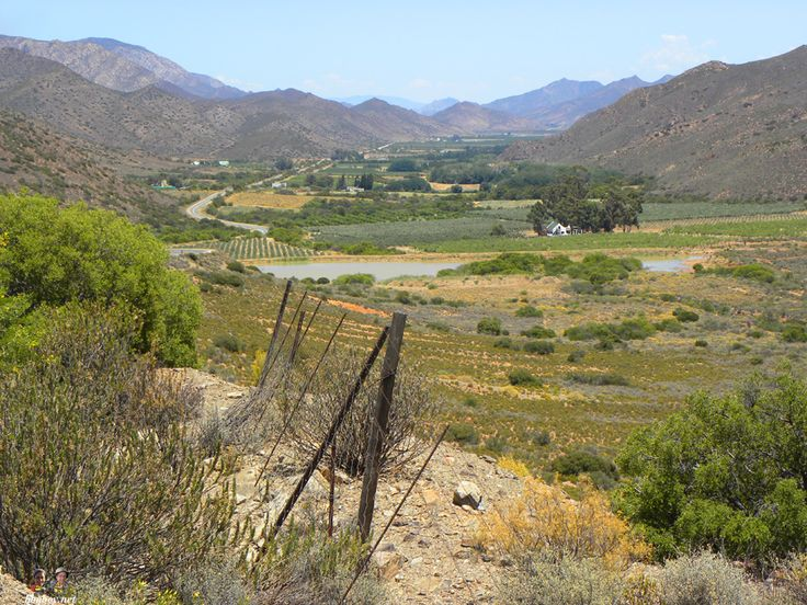 groot Karoo views of valley