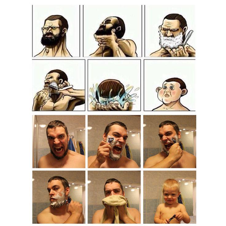 Copying A Shaving Meme