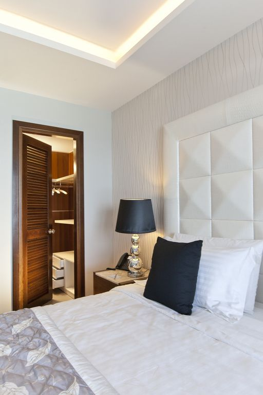 Our Executive and Mediterranean Suites feature  a stylish Walk-In Wardrobe !