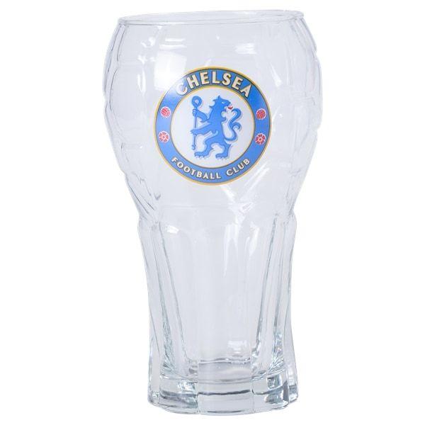 Chelsea Football Pint Glass