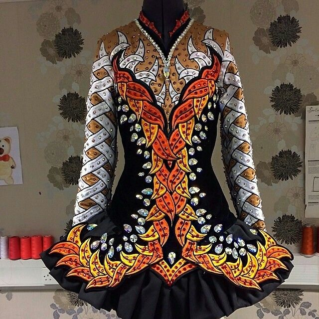 Celtic Star Irish Dance Solo Dress Costume This is gorgeous! I love it!