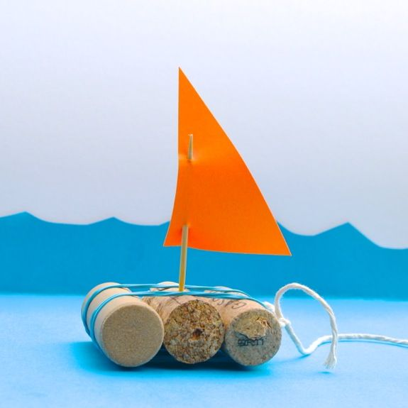 Quick Craft for Kids -- Toy Boats - Inner Child Fun