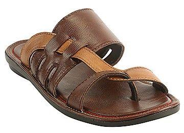 Bacca Bucci Premium Brown Men Sandals - BBMD5032C