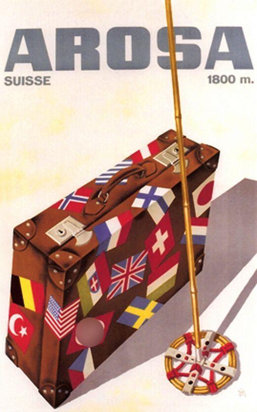 Alex Diggelmann 1936 Arosa Suisse, 1800m