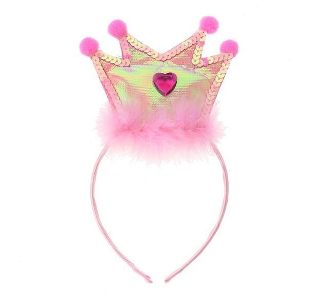 Opaska Princess, różowa korona- Królowa jest tylko jedna ;) To Ty czy Twoja córeczka? :)