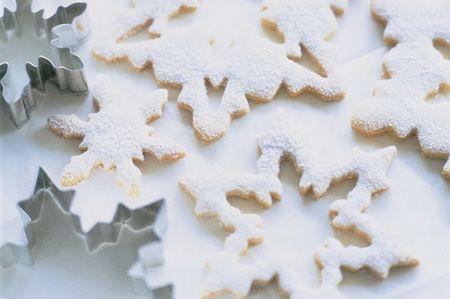 Beautiful snowflake cookie cutters