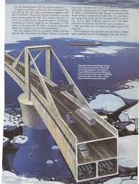 Bering Strait and Diomede Islands bridge: Cross-continental bridge that will connect Kamchatka to Alaska, connecting two super continents and much of the world on land.