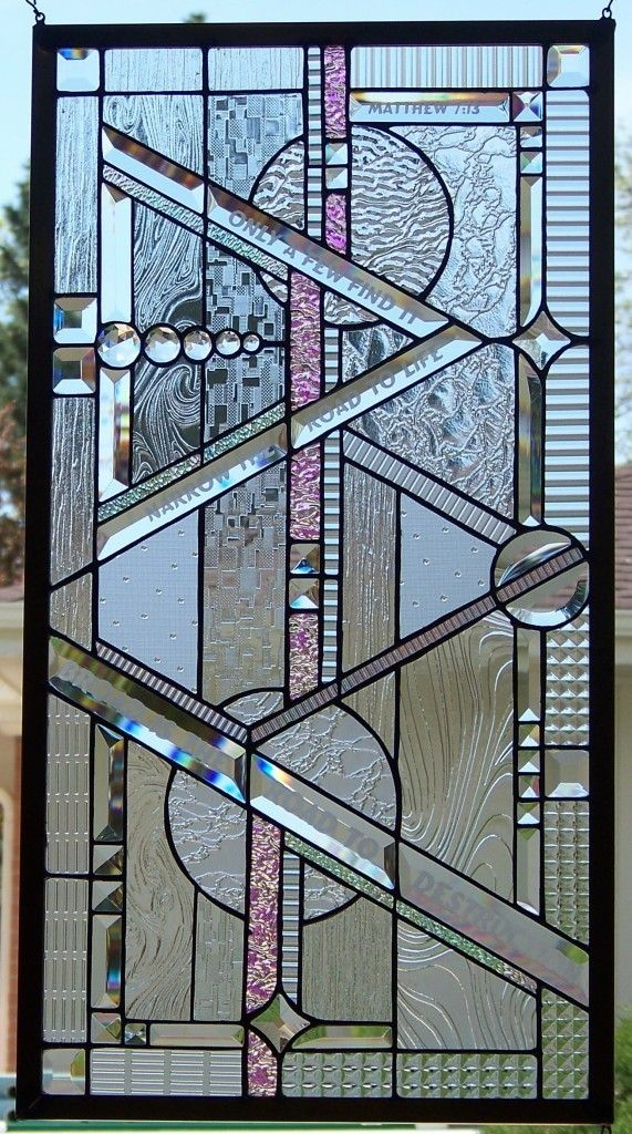Stained Glass Window Hanging-Steve's Custom Stained Glass on Ebay. This guys work is stunning!