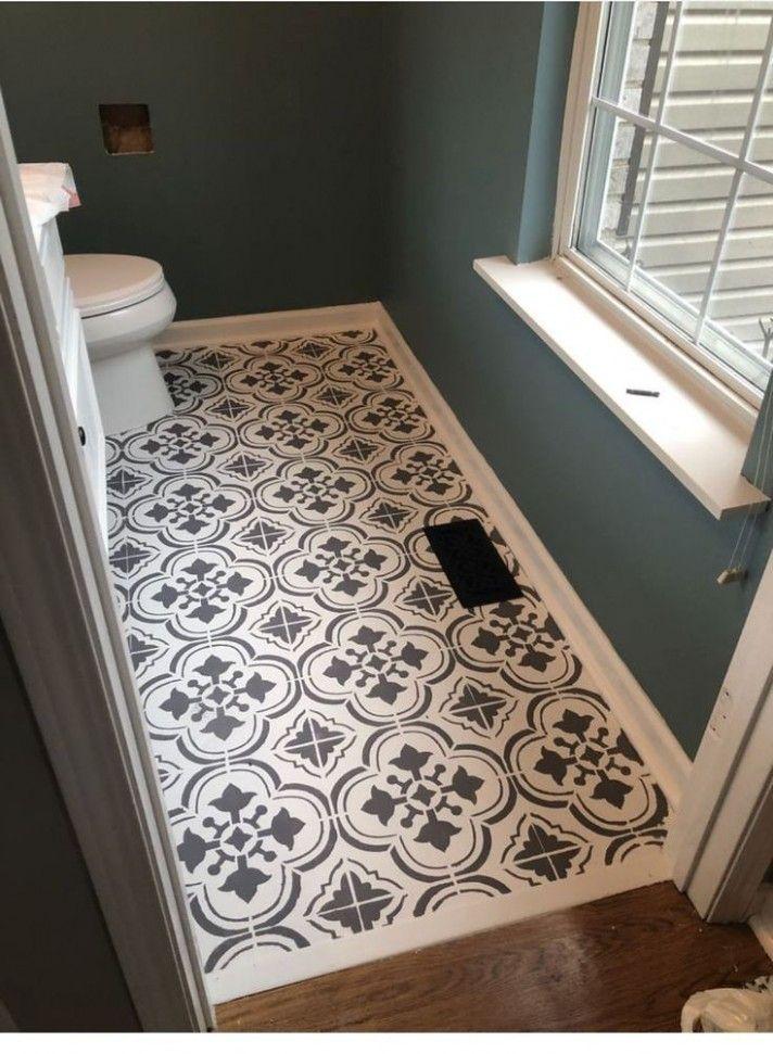 The History Of Bathroom Floor Ideas Diy Bathroom Floor Ideas Diy In 2020 Best Bathroom Flooring Small Half Bathrooms Tile Remodel