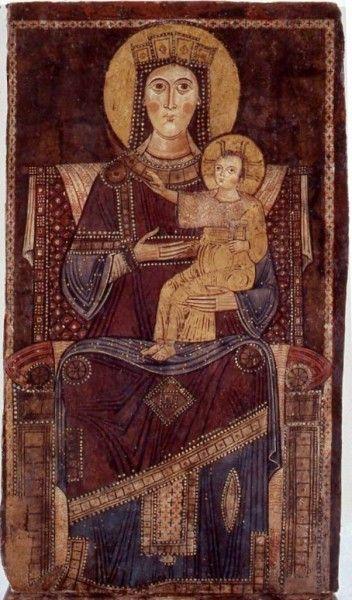 Scuola Romana sec. XIII - Madonna del Sorbo - Campagnano di Roma, Santuario della Madonna del Sorbo