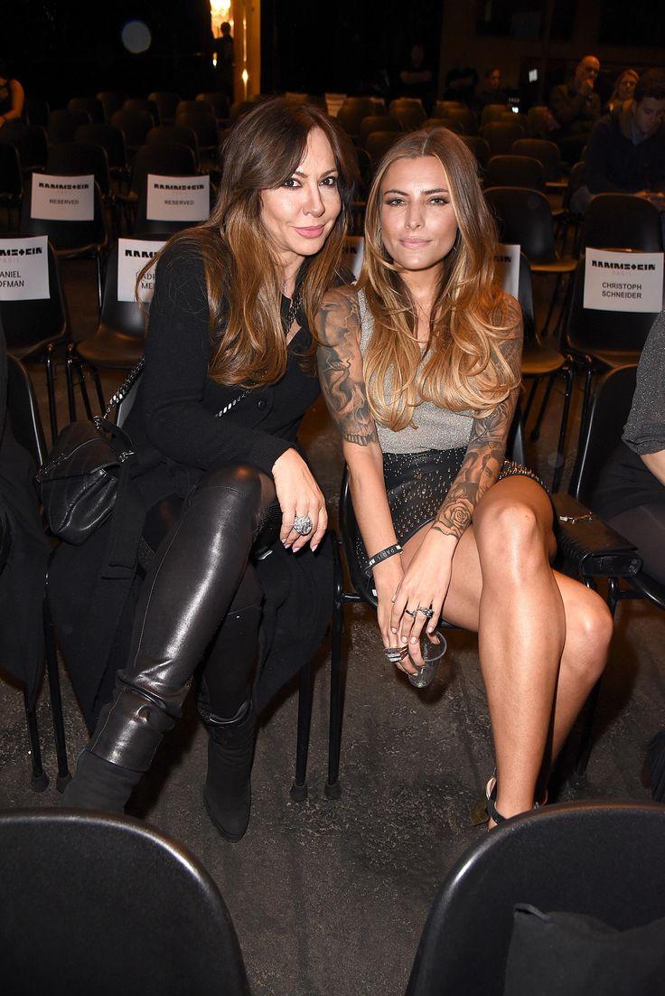 Sophia & Simone Thomalla attends Rammstein Paris