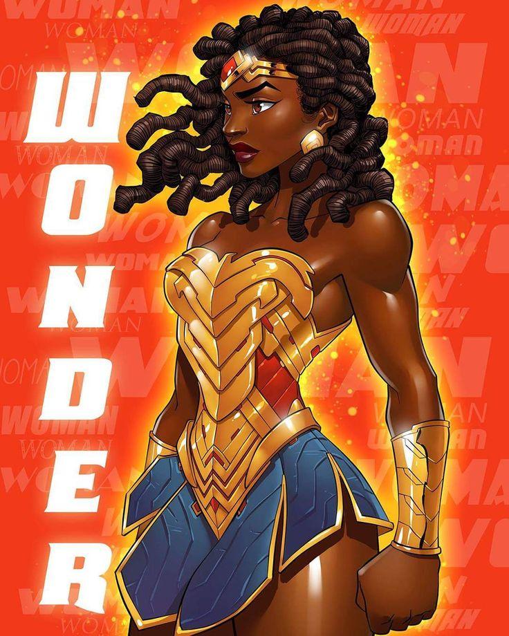 Nubia - Wonder Woman Sister