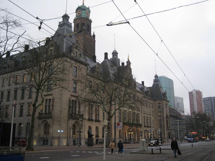 Het Stadhuis / Coolsingel / Rotterdam. Photo RR