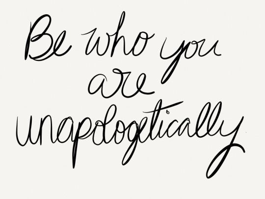 Be you.: