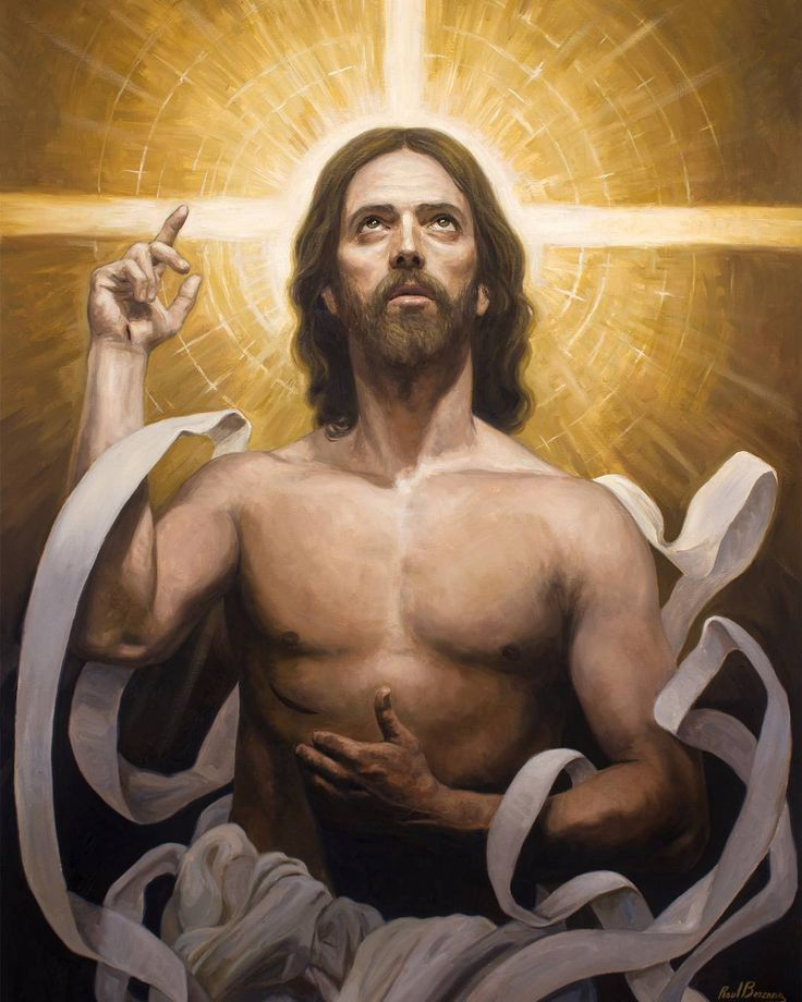 Risen Christ / Cristo Resucitado // By Raúl Berzosa // Colección 'Rostros de Cristo' en Francia. // #Jesus #Easter